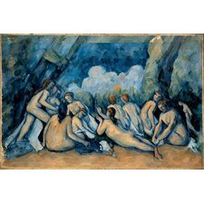 """The Bathers"" Canvas Wall Art by Paul Cezanne"