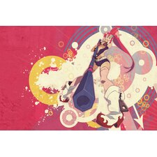 "<strong>iCanvasArt</strong> ""Tengentoppa"" Photographic from Gurren Lagann Anime Canvas Wall Art"