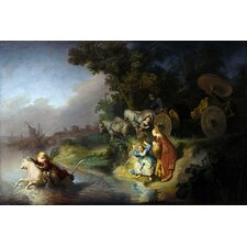 "<strong>iCanvasArt</strong> ""The Abduction of Europa"" Canvas Wall Art by Rembrandt"