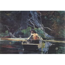 "<strong>iCanvasArt</strong> ""The Adirondack Guide 1894"" Canvas Wall Art by Winslow Homer"