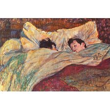 """The Bed"" Canvas Wall Art by Henri De Toulouse-Lautrec"