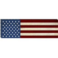 <strong>iCanvasArt</strong> U.S. Constitution - U.S.A. Flag Canvas Wall Art