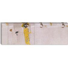 """The Beethoven Frieze (The Hostile Forces)"" Canvas Wall Art by Gustav Klimt"
