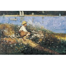 """Watching the Harbor 1873"" Canvas Wall Art by Winslow Homer"