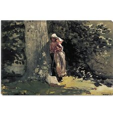 """Weary 1878"" Canvas Wall Art by Winslow Homer"