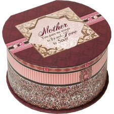 <strong>Cottage Garden</strong> Belle Papier Mother Round Box