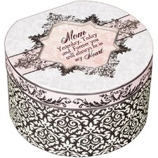 <strong>Cottage Garden</strong> Belle Papier Mom Simply Classic Round Box