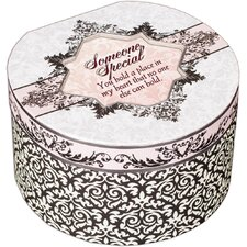 <strong>Cottage Garden</strong> Belle Papier Someone Special Simply Classic Round Box