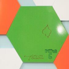 Hexagon Magnetic Sketch Dry Erase Board