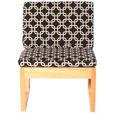 Modern Veranda Cypress Side Chair with Cushion