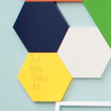 Hexagon Magnetic Sketch Dry Erase Board (Set of 3)