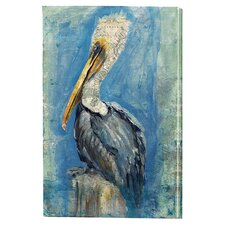 Brown Pelican Indoor by Anthony Marrow on Canvas