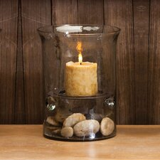 Glass Hurricane Glass Cylinder Lantern