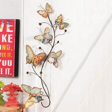 <strong>Cape Craftsmen</strong> Bohemian Rhapsody Boho Butterfly Wall Décor