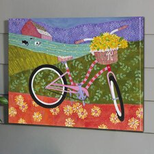 Outdoor Canvas Bicycle Wall Decor