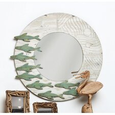 Fish Framed Wall Mirror