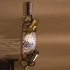 <strong>Cape Craftsmen</strong> 3 Bottle Wall Mount Wine Rack