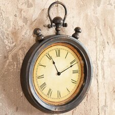 Everyday Retro Stopwatch Metal Wall Clock