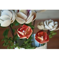 Coastal Chic Seashell Flower Pick (Set of 2)