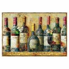 Wine Collection by NBL Studio Framed Graphic Art