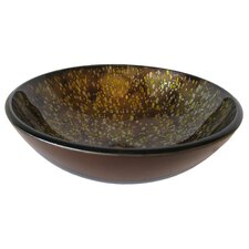 Distorto Glass Vessel Sink
