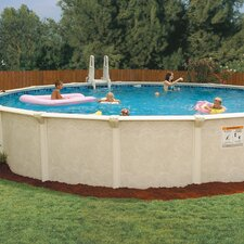 "Oval 52"" Deep Oasis 100 Pool Package"