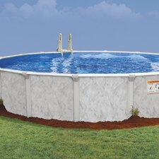"Oval 52"" Deep Oasis 101 Pool Package"