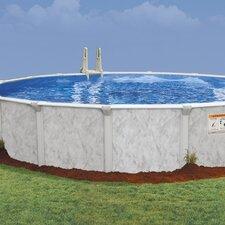 """Oval 52"""" Deep Oasis 101 Pool Package"""