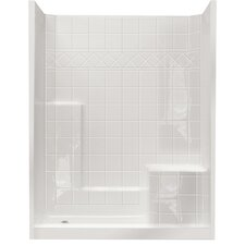 Standard Low Threshold System 3 Panels Shower Wall