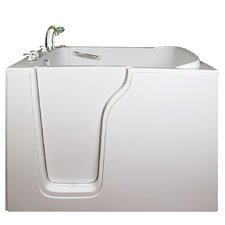 "Bariatric 55"" x 35"" Seat Soaking Walk-In Bathtub"