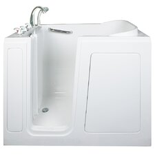"Short 40"" x 48"" Long Soaking Walk-In Bathtub"