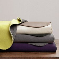Reversible Micro Fleece Polyester Throw Blanket