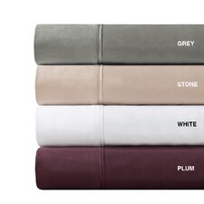 600 Thread Count Pima Solid Cotton Sheet Set