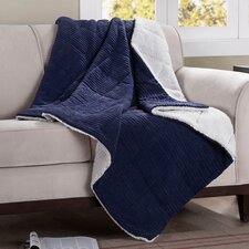 Jackson Wide Corduroy Polyester Throw