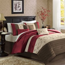 Madison Park Serene 7 Piece Comforter Set