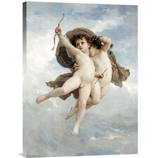 'L'Amour Vainqueur' by William Adolphe Bouguereau Painting Print on Canvas