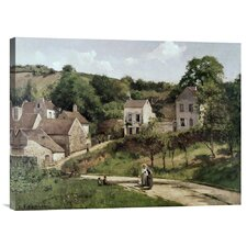 'Country Road' by Camille Pissarro Painting Print on Canvas