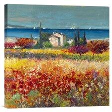 'Sogno Mediterraneo (detail)' by Luigi Florio Painting Print on Canvas
