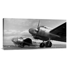 'Airplanes Lineup, 1936' by Gordon S. Williams Photographic Print on Canvas