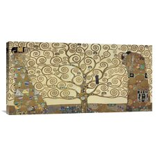 'The Tree of Life' by Gustav Klimt Painting Print on Canvas