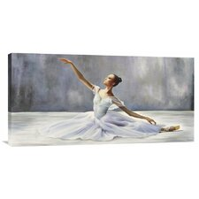 'Ballerina' by Pierre Benson Painting Print on Canvas