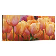 'Summer Tulips' by Luca Villa Painting Print on Canvas