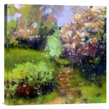 'Spring Field' by Lou Wall Painting Print on Canvas