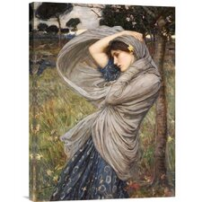 'Boreas' by John William Waterhouse Painting Print on Canvas