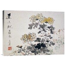 'Chrysanthemums' by Xu Gu Painting Print on Canvas