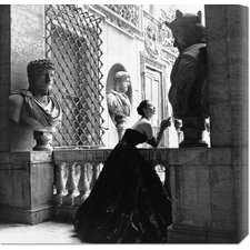 'Evening Dress, Roma, 1952' by Genevieve Naylor Photographic Print on Canvas