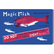 <strong>Bentley Global Arts</strong> 'Magic Fish' by Retrobot Stretched Canvas Art