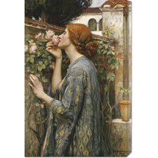 <strong>Bentley Global Arts</strong> 'The Soul of The Rose' by John William Waterhouse Stretched Canvas Art