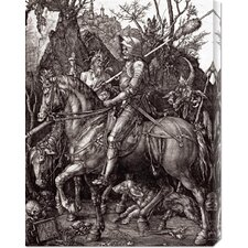 <strong>Bentley Global Arts</strong> 'Knight, Death and The Devil' by Albrecht Durer Stretched Canvas Art