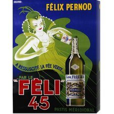 'Feli 45' by Raymond Ducatez Vintage Advertisement on Canvas